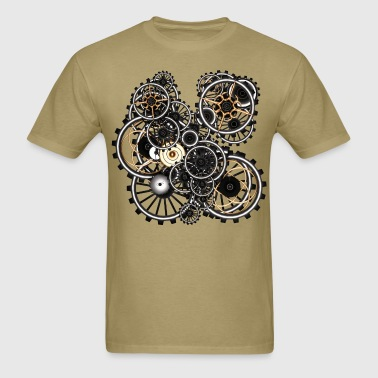 Gears on your gear no.2 Steampunk T-Shirts - Men's T-Shirt