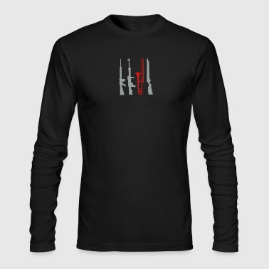 trombone - Men's Long Sleeve T-Shirt by Next Level