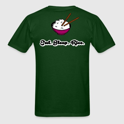Eat Sleep Rice T-Shirts - Men's T-Shirt