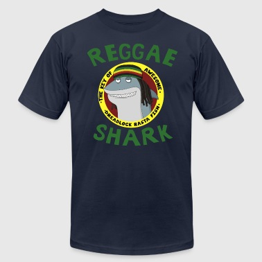 Reggae Shark - Men's Fine Jersey T-Shirt