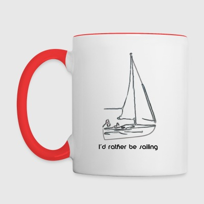Sailing mug - Contrast Coffee Mug