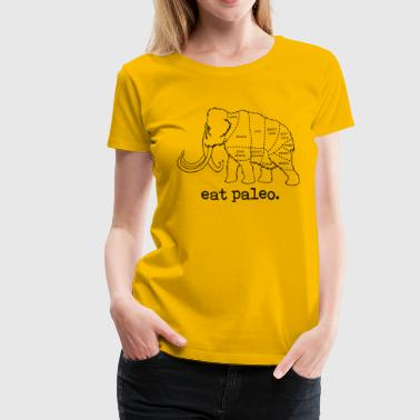 Woolly Mammoth Paleo Diet Butcher Cut Woman's T-Sh - Women's Premium T-Shirt