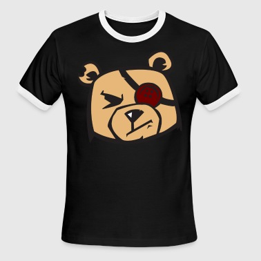 Tough Teddy - Men's Ringer T-Shirt