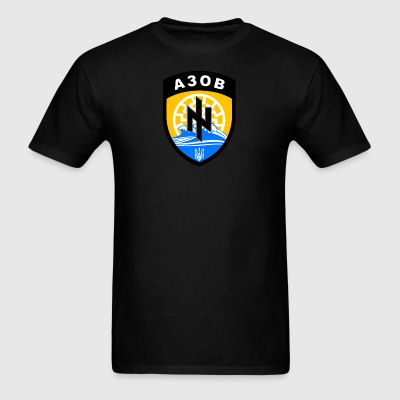 Azov, Defend Ukraine  - Men's T-Shirt