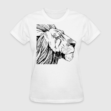 Lion Female - Women's T-Shirt