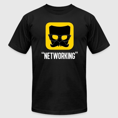 Networking - Men's T-Shirt by American Apparel