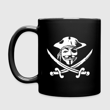 Anon Pirate Mugs & Drinkware - Full Color Mug