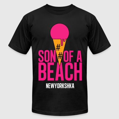 Son of a Beach - Men's T-Shirt by American Apparel