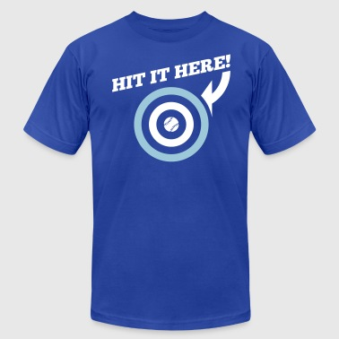 Hit it Here! (Kansas City) - Men's Fine Jersey T-Shirt