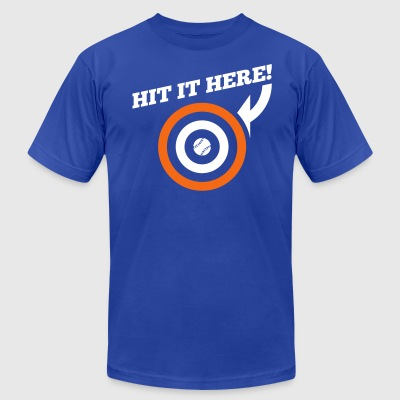 Hit it Here! (New York) - Men's T-Shirt by American Apparel