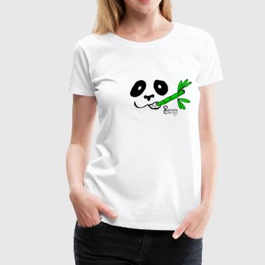 Panda food - Women's Premium T-Shirt