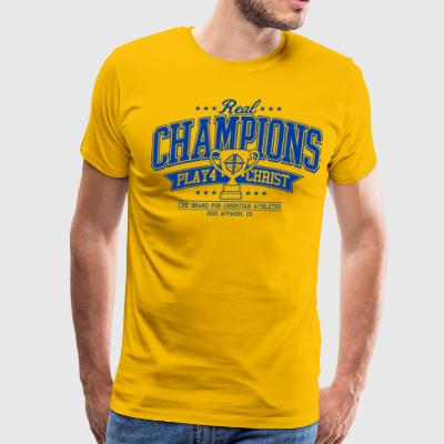 Real Champions Tee - Men's Premium T-Shirt