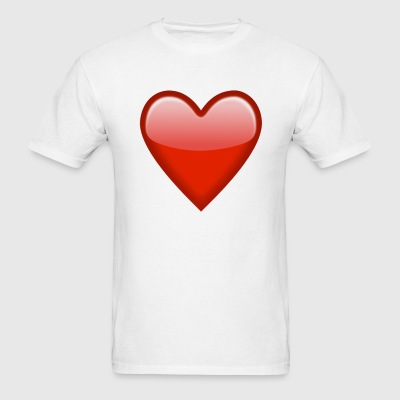 Heart emoticon - Men's T-Shirt