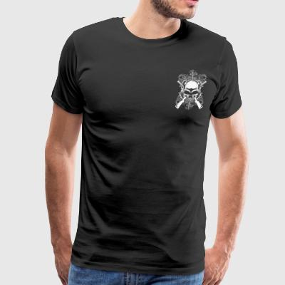 I have a Pretty Daughter and an Alibi T-Shirts - Men's Premium T-Shirt