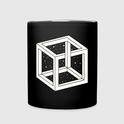 Unreal Cube Space Mugs & Drinkware - Full Color Mug