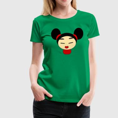 China Girl Women's T-Shirts - Women's Premium T-Shirt