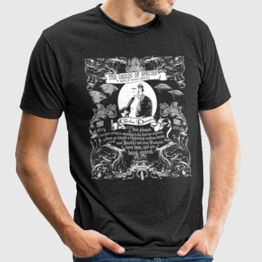 Charles Darwin Origin of Species - Unisex Tri-Blend T-Shirt by American Apparel