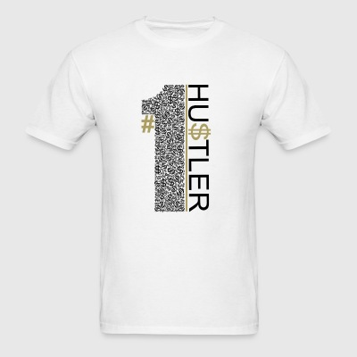Number1Hustler - Men's T-Shirt