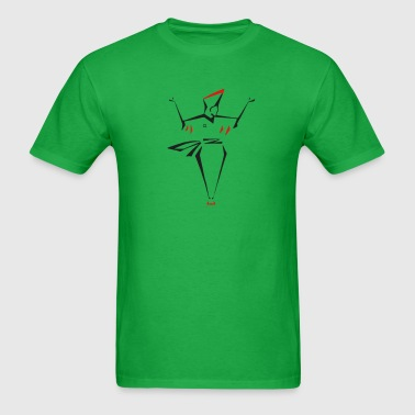 Men's T-Shirt - dancer with flare - Men's T-Shirt