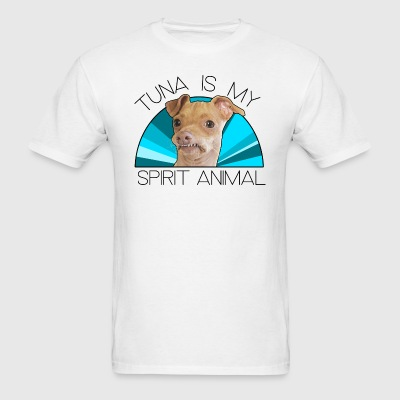 Tuna Spirit Animal Blue T-Shirts - Men's T-Shirt
