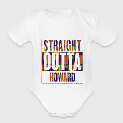 Straight Outta Howard Onsie - Short Sleeve Baby Bodysuit
