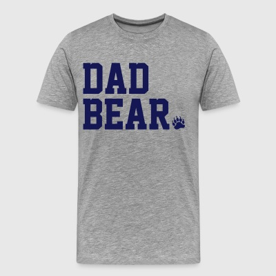 Dad Bear T-Shirts - Men's Premium T-Shirt