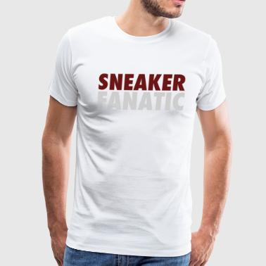 Sneaker Fanatic Tee - Men's Premium T-Shirt