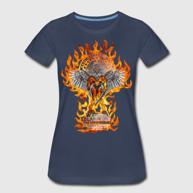WARRIOR GLADIATOR GRAPHIC TEE - Women's Premium T-Shirt