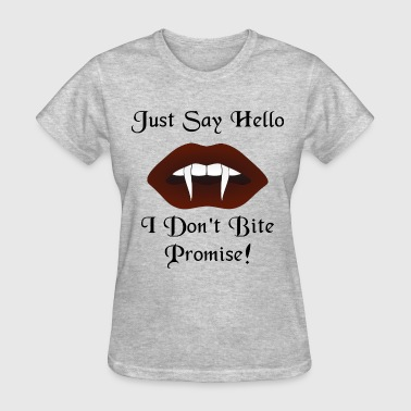 Just Say Hello Womens T-Shirt - Women's T-Shirt