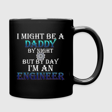 Daddy Engineer Full Color Mug - Full Color Mug