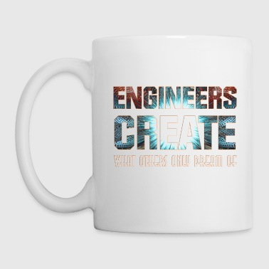 Engineers Create FT Classic White Mug - Coffee/Tea Mug