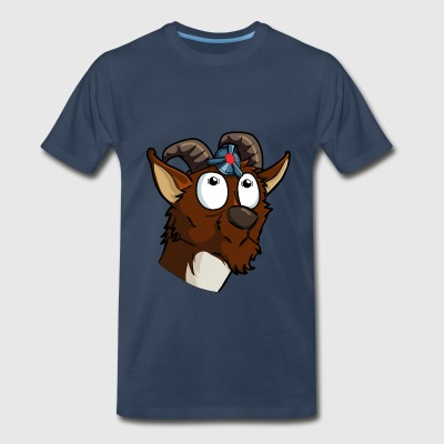 Frank The Goat  - Men's Premium T-Shirt