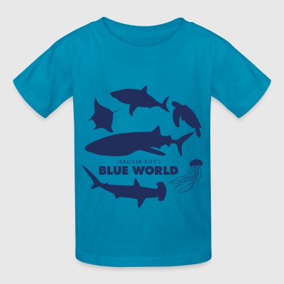 Blue World Kids T-shirt - Kids' T-Shirt