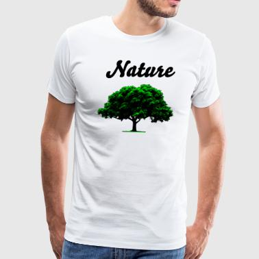 Nature- Green - Men's Premium T-Shirt