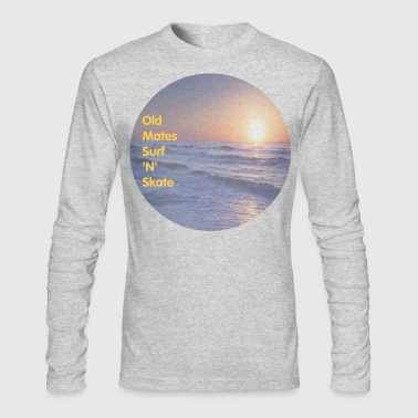 Old Mates Surf 'N' Skate - Men's Long Sleeve T-Shirt by Next Level