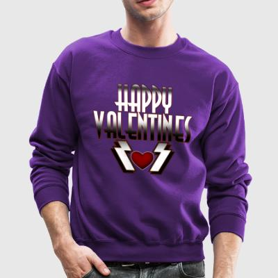 Happy Valentine DSFRL Womens Crewneck Sweatshirt - Crewneck Sweatshirt