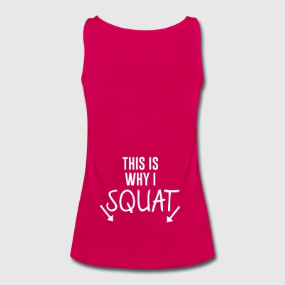 Squat - Women's Premium Tank Top