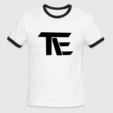 Team EnTity Black & White T-shirt - Men's Ringer T-Shirt