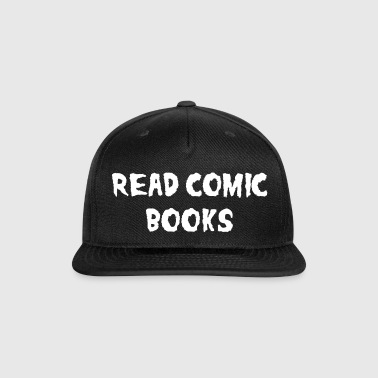 Read Comic Books Caps - Snap-back Baseball Cap