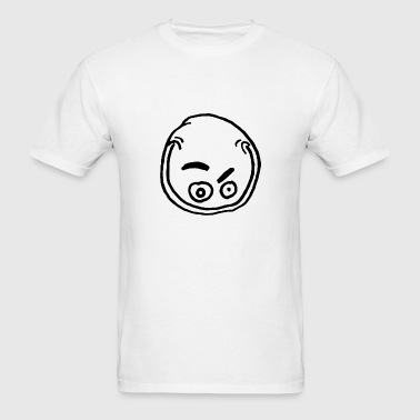 Evil Grin T-Shirt White - Men's T-Shirt