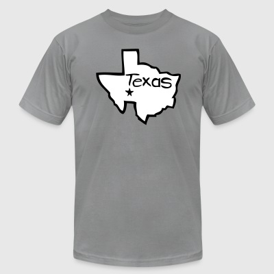 To the Alamo! by Rocktane Clothing - Men's T-Shirt by American Apparel
