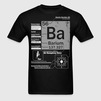 Barium t shirt - Men's T-Shirt
