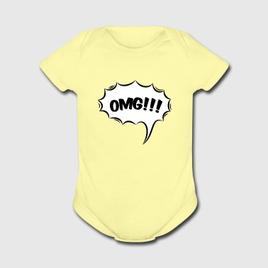 OMG - B - Short Sleeve Baby Bodysuit