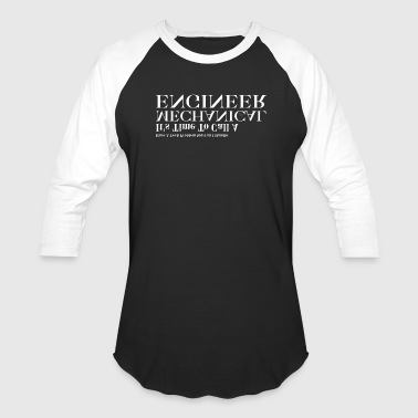 Mechanical Engineer Problem Solver Mens Baseball T - Baseball T-Shirt
