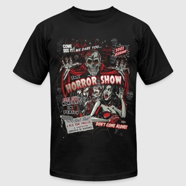 Horror movie Monsters spook show - Men's T-Shirt by American Apparel