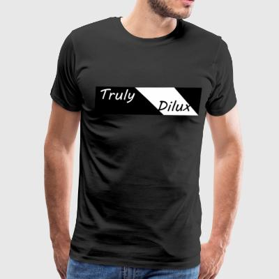 Original Truly Dilux T-Shirt (Black) - Men's Premium T-Shirt
