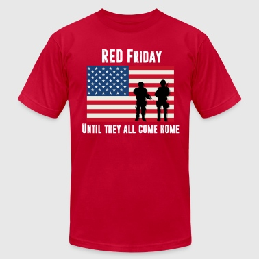 RED Friday Men's American Apparel  - Men's T-Shirt by American Apparel