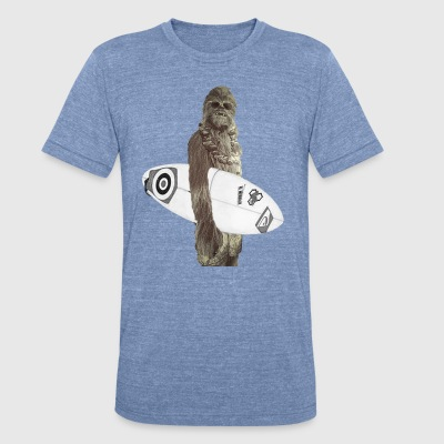 Chewy Surfs - Unisex Tri-Blend T-Shirt by American Apparel