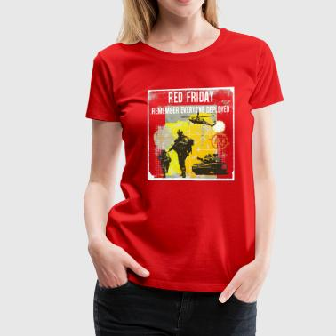Red Friday - Women's Premium T-Shirt - Women's Premium T-Shirt