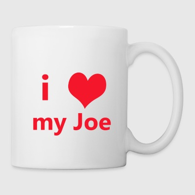 I Heart My Joe Mug - Coffee/Tea Mug